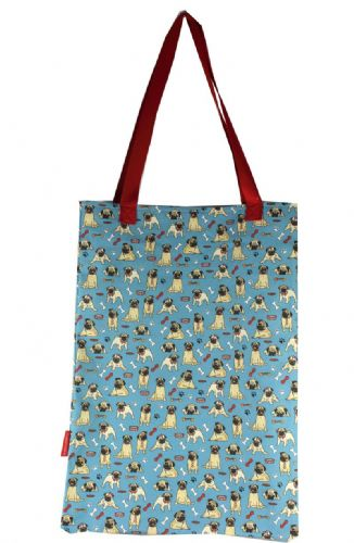 Selina-Jayne Pug Dog Limited Edition Designer Tote Bag